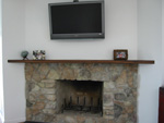 contemporay fireplace